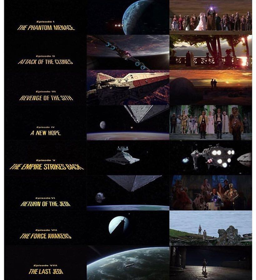 Which Movie Opening Ending Is Your Favorite My Favorite Opening Is Revenge Of The Sith And M Star Wars Battlefront Empire Strike Star Wars Memes