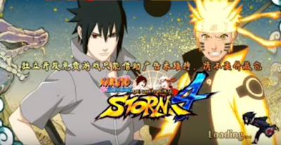 Naruto Senki Mod Ninja Storm 4 Shinobi Legends v1.17 Apk