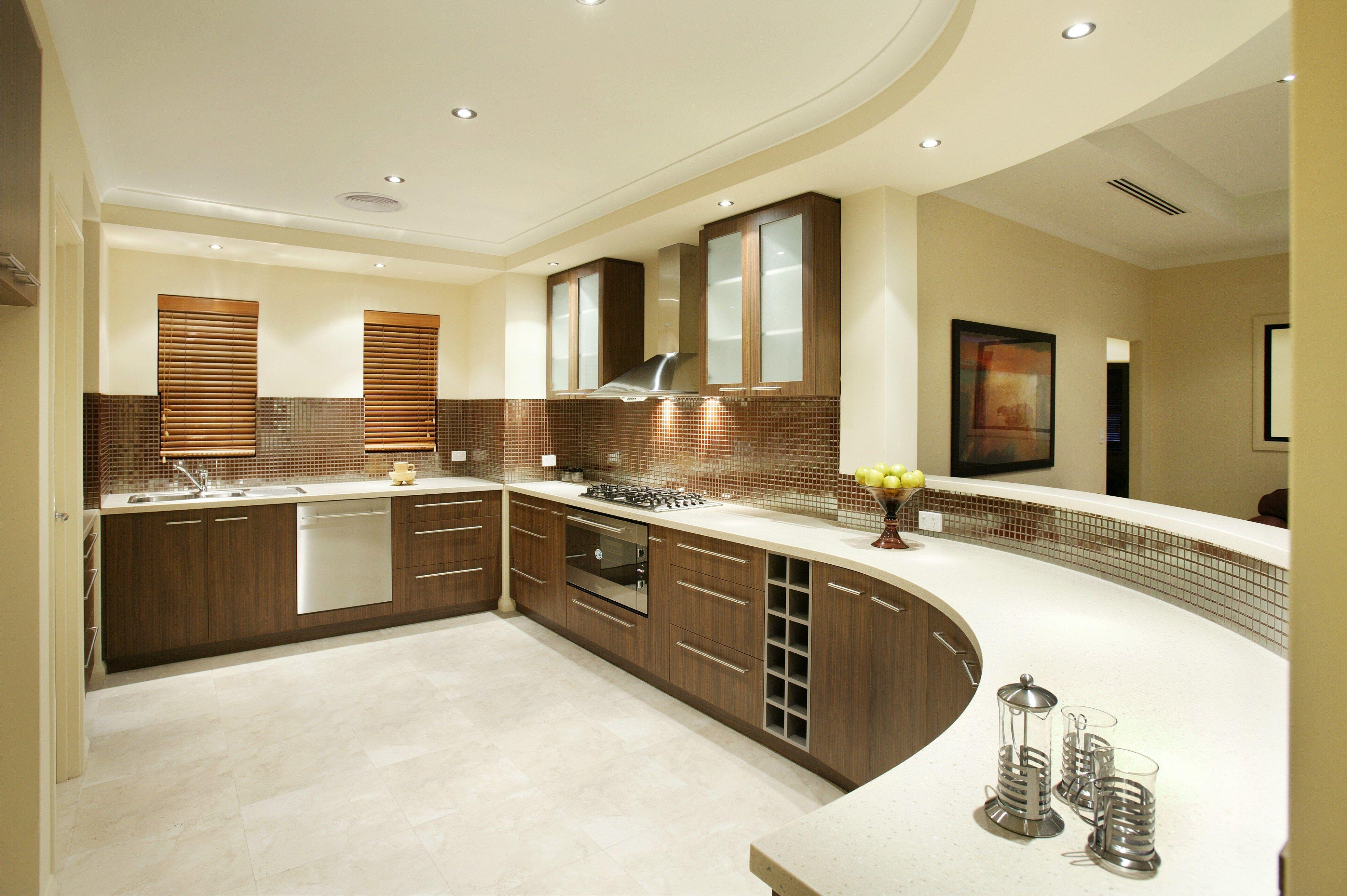 Interior Exterior Plan Home Kitchen Design Display Dining Kitchen Interior  Designs Subin Surendran Architects