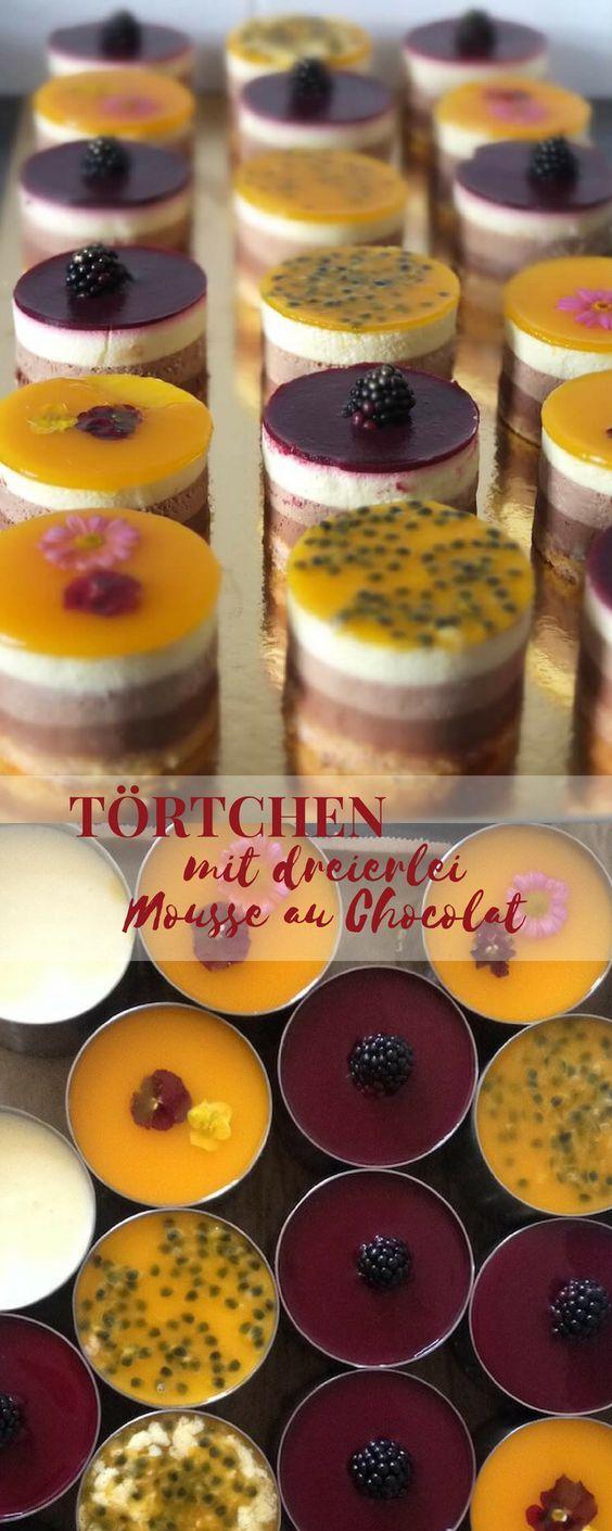 Von einem Sommernachtstraum in Berlin, einer blühenden Hochzeitstorte und dreierlei Mousse au Chocolat – Dessert
