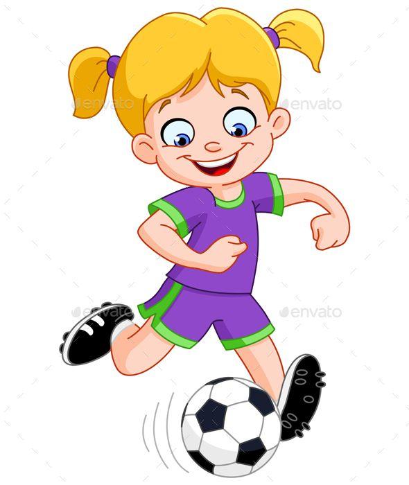 Soccer Girl Girl Playing Soccer Soccer Girl Play Soccer