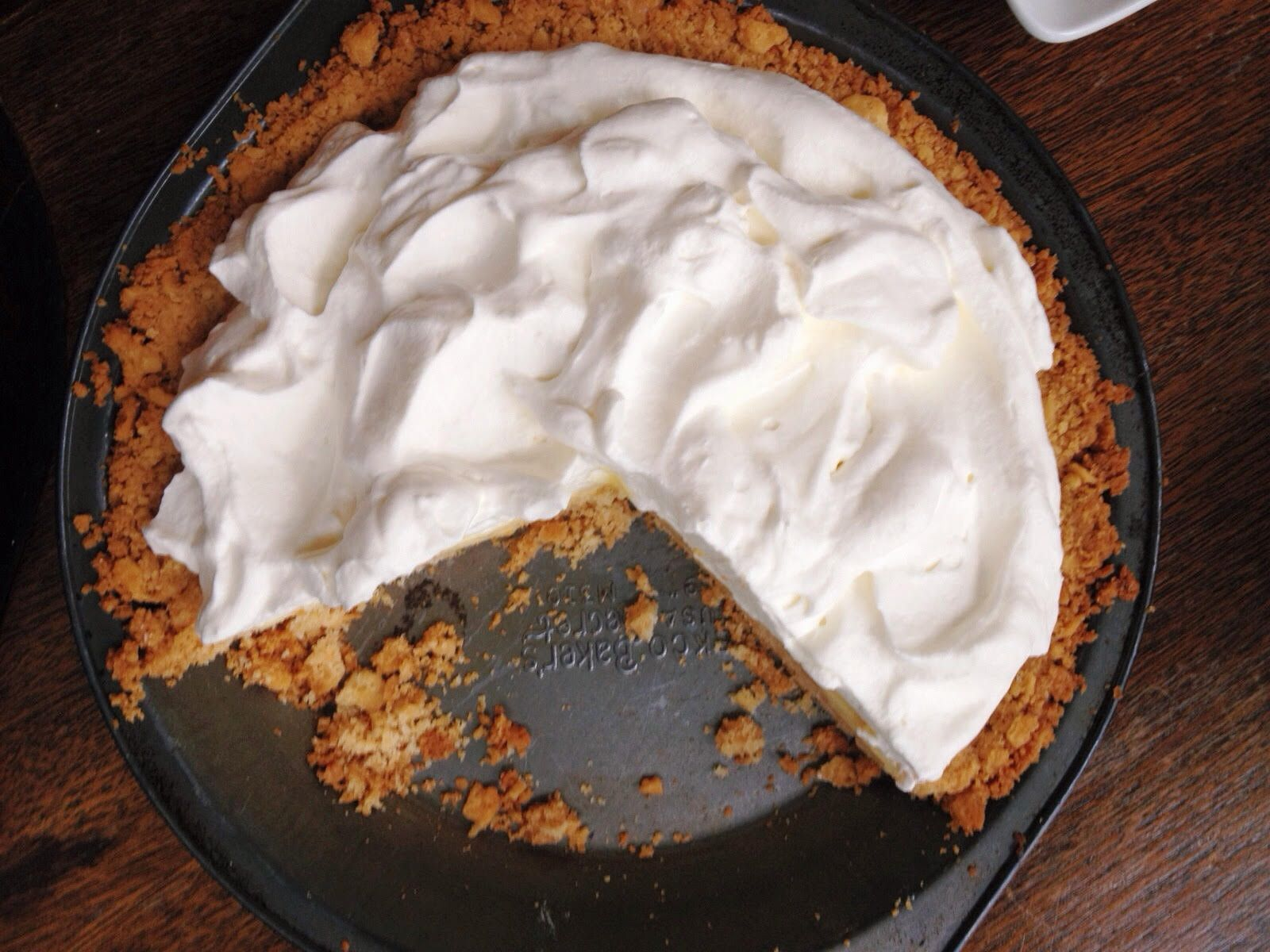 THE ASSOCIATED PRESSThe beauty of this pie lies in the play between the salty, dense crust made from soda crackers and the creamy sweet-and-tart filling featuring citrus juice.