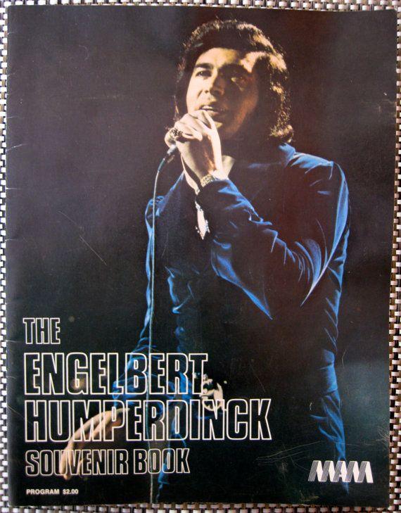 Engelbert Humperdinck 1972 Concert Souvenir Book, $16.00    blondesavage.etsy.com