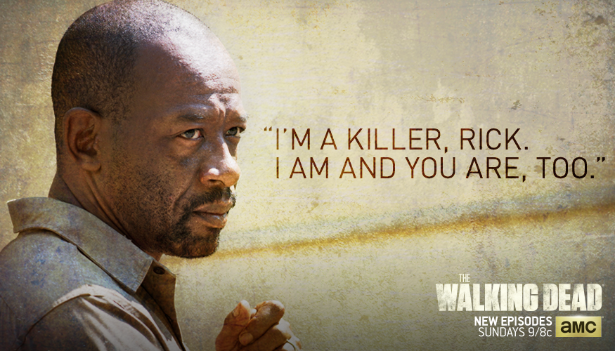 How will Morgan react after Rick's kill on Sunday? #TWD