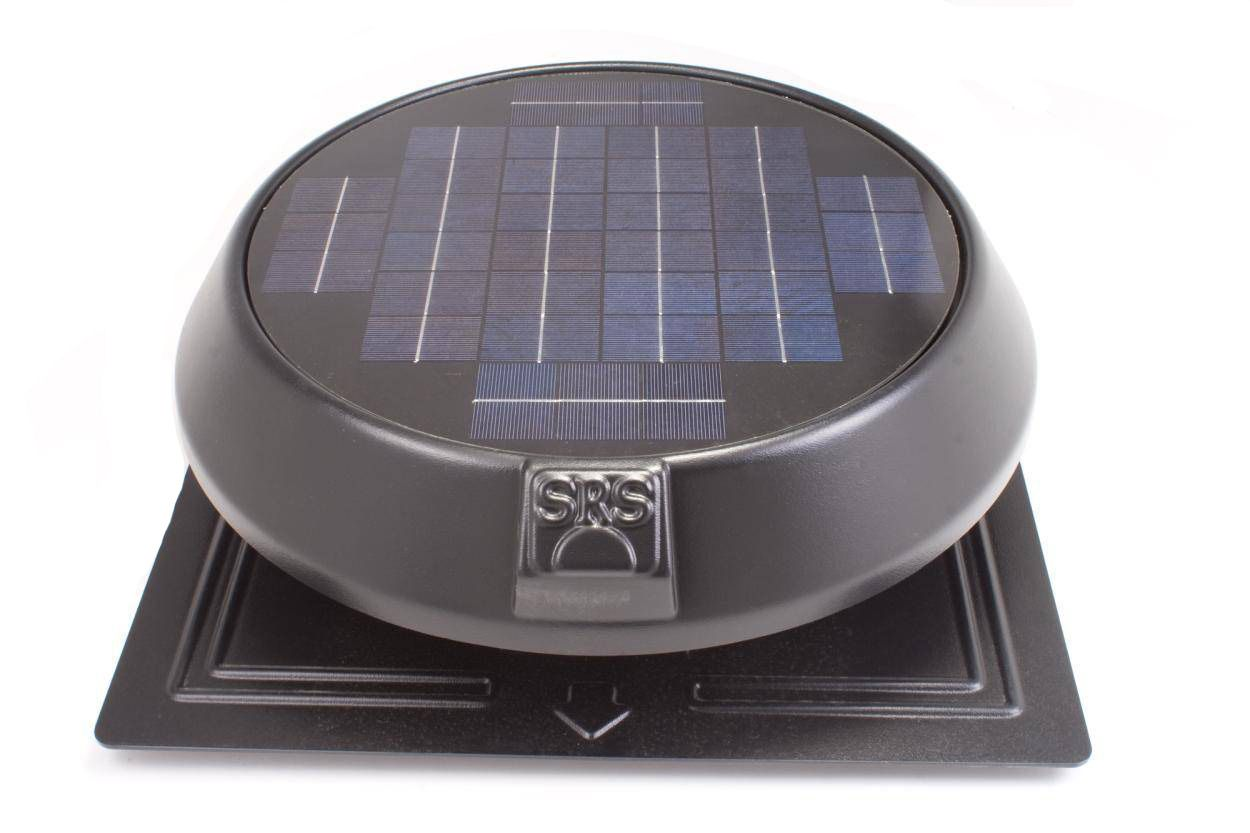 Solar star attic fan complaints - We Recently Completed An Early Morning Install Of A Sunrise Solar Attic Fan On A Steep Roof The Customer Went With Our Flat Base Model To Get The