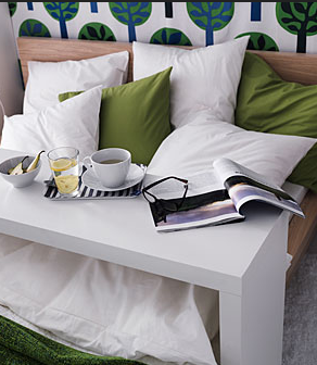 Ikea Copy Cat Homemade Occasional Table Tutorial Ikea Bed Table Ikea Malm Bed Malm Occasional Table
