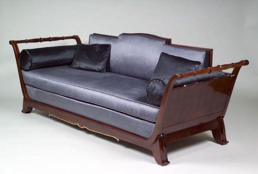 Jules Leleu French Art Deco Quot Richelieu Quot Sofa Art Deco
