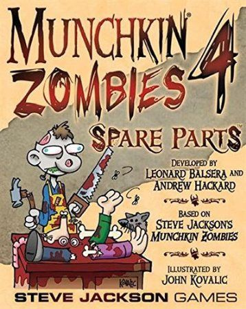 Munchkin Zombies 4 Spare Parts Game Board Game Night Pinterest