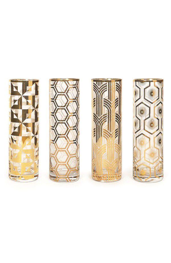 Rosanna Rosanna Art Deco Champagne Flutes (Set of 4) available at #Nordstrom
