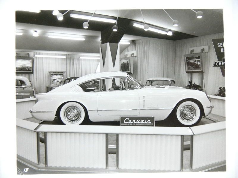 Corvette Corvair, 1954 - Chicago Motorama   babes,bikes and cars ...