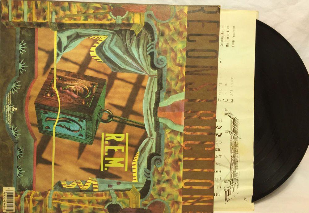 R E M  - Fables Of The Reconstruction Vinyl Record Album