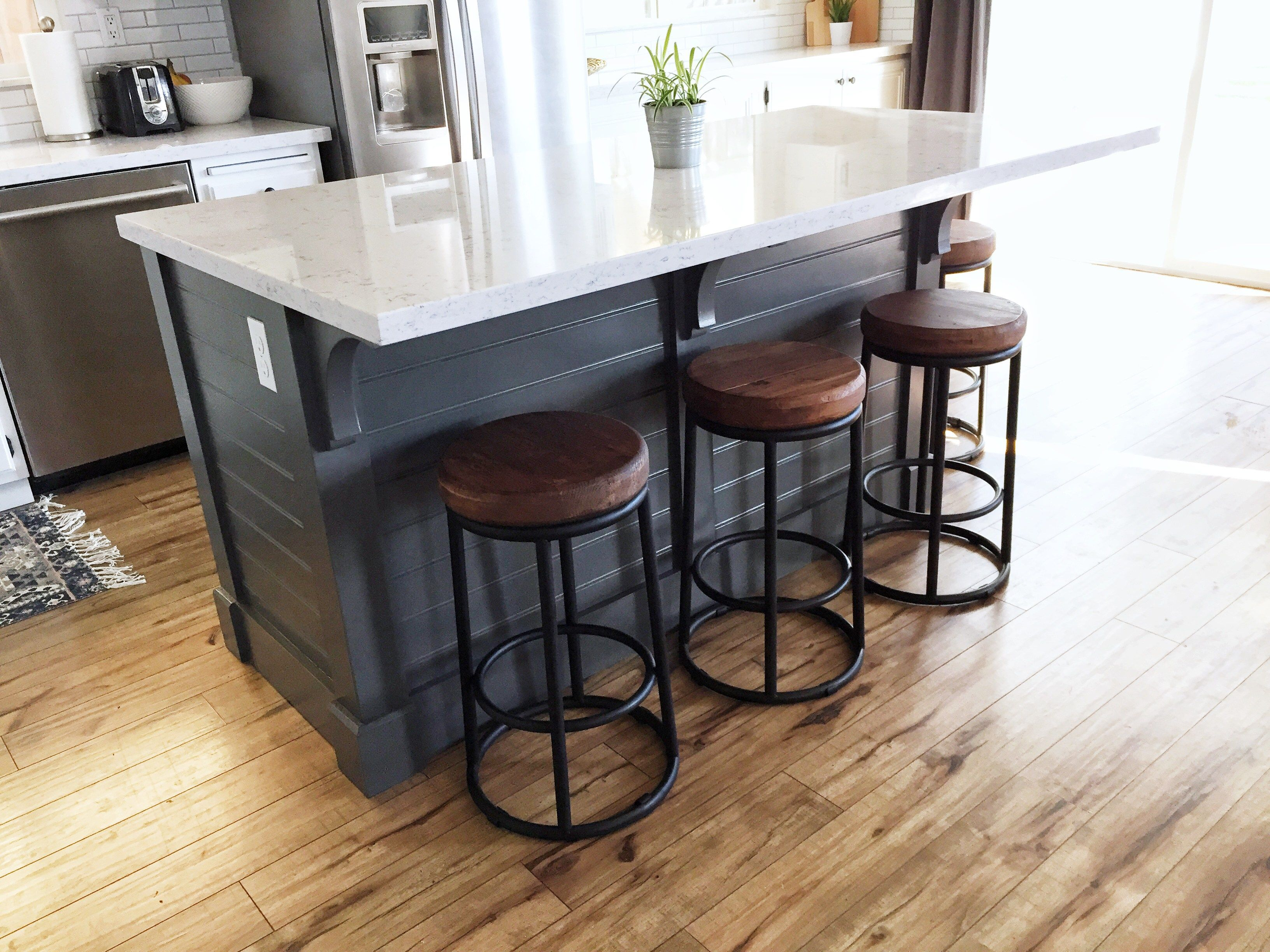 Kitchen Island- Make it yourself! Save Big | Pinterest | Kitchens ...
