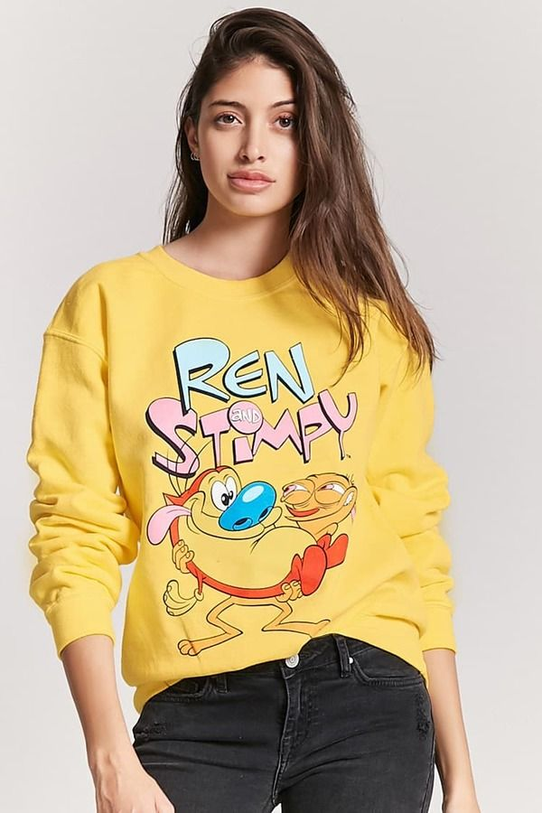 600bc5c88 FOREVER 21 Ren And Stimpy Graphic Sweatshirt $24.90 #affiliate ...