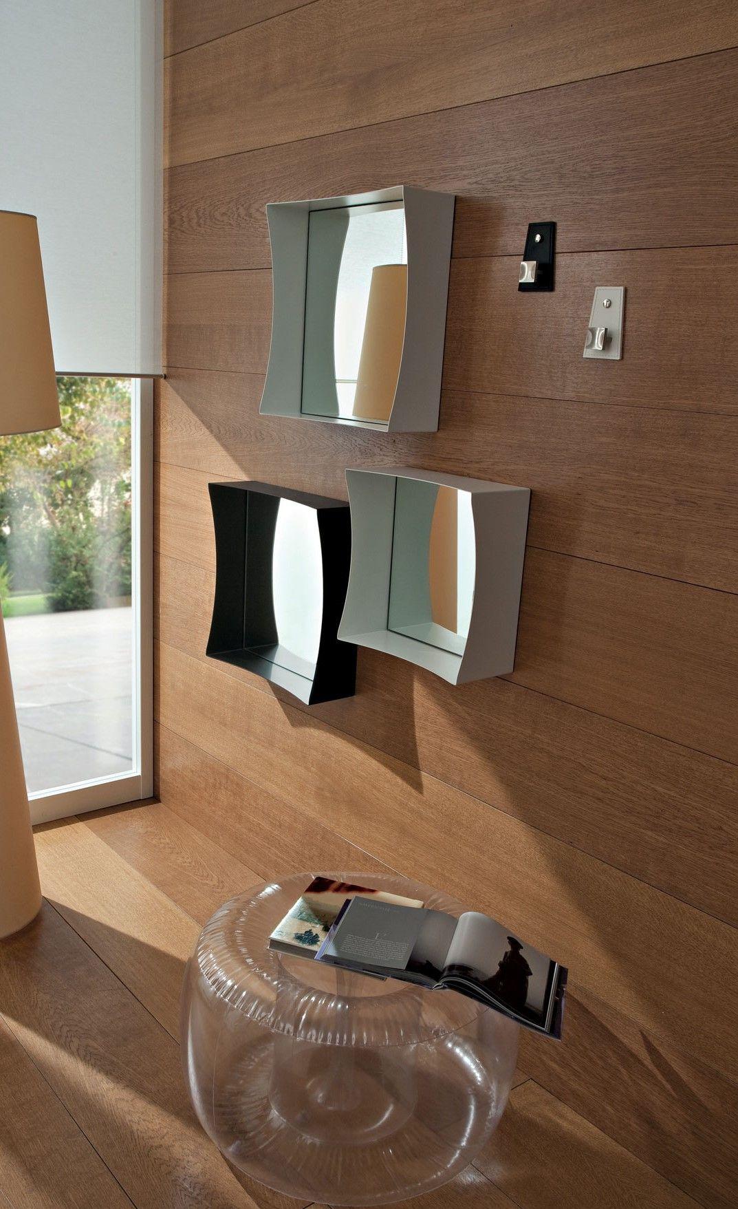 Spiegel Set Marzia | Moderne spiegel, Spiegel und Schwarzer