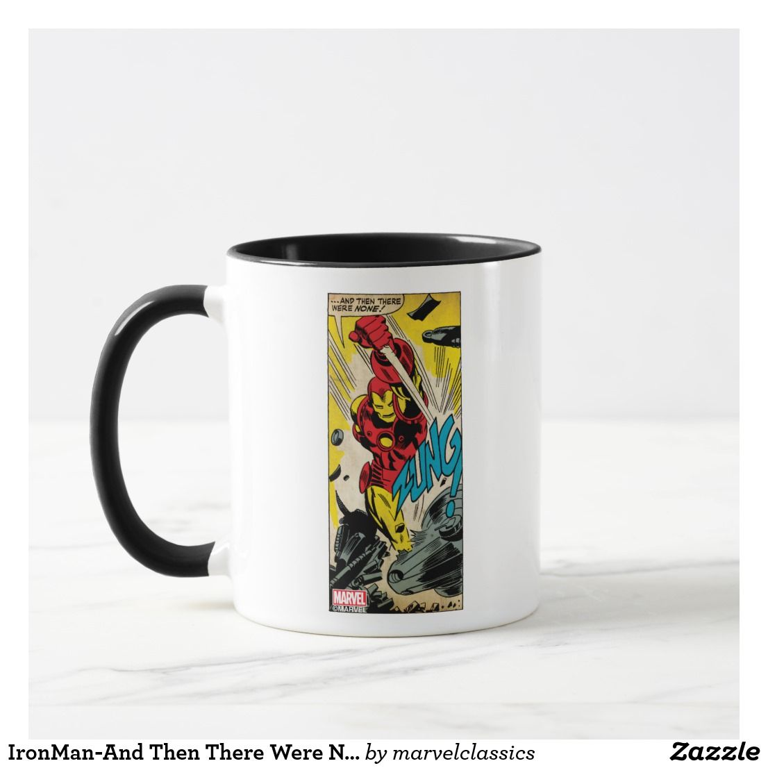 Were Then There MugCustom None And Ironman Marvel N80vmnw