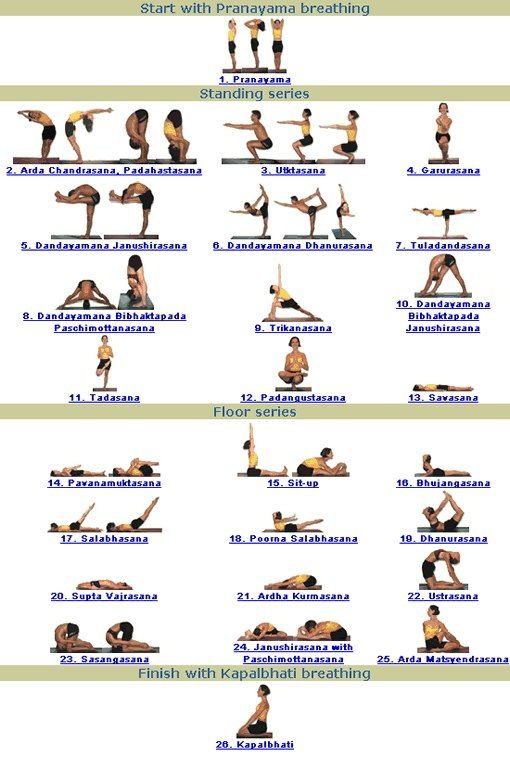 26 Pose Guide With Names