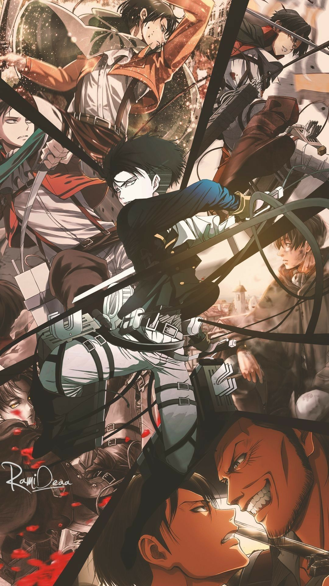 Pin by Cosmin on Wallpaper Anime, Attack on titan art