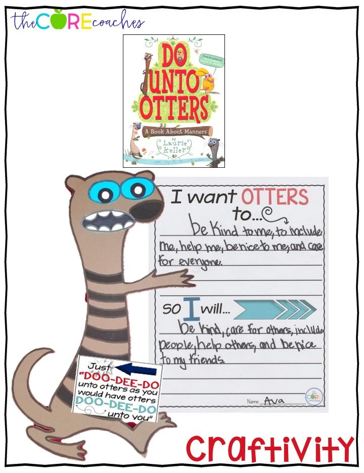 interactive read aloud lesson plan template - do unto otters interactive read aloud lesson plans and