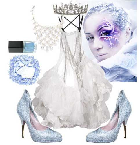 Christmas+snow+queen+costume+Women | snow-queen  sc 1 st  Pinterest & What to Wear to a Halloween Party Part 3 (Fancy Dress Ideas ...