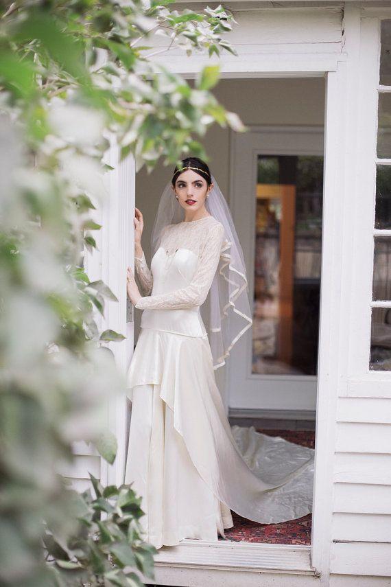 Webpromotion für Ihren Shop: Vintage Brautkleid aus dem 40er Jahren ...