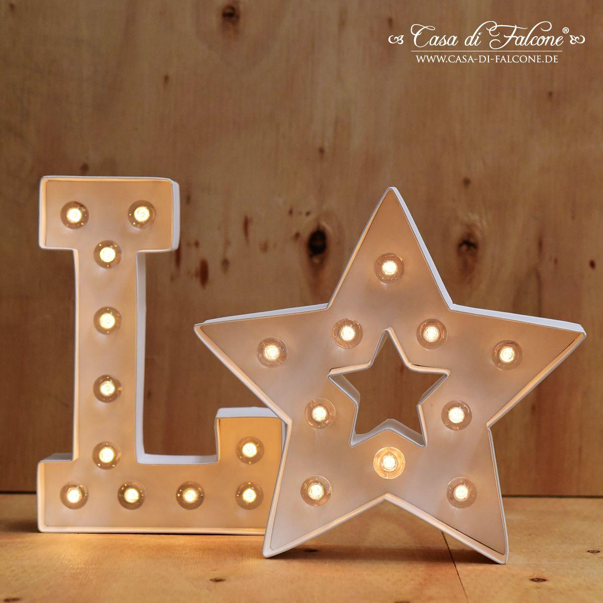 led leuchtbuchstaben für coole kinderzimmer deko | basteln ... - Coole Kinderzimmer Deko