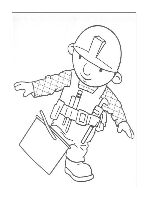 Dibujos para Colorear Bob el constructor 5 | Dibujos para colorear ...