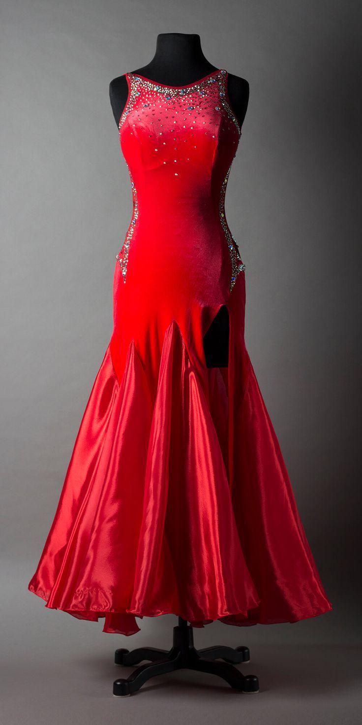 LBD-727-DN — LeNique | Dance dresses, Standard dance dress