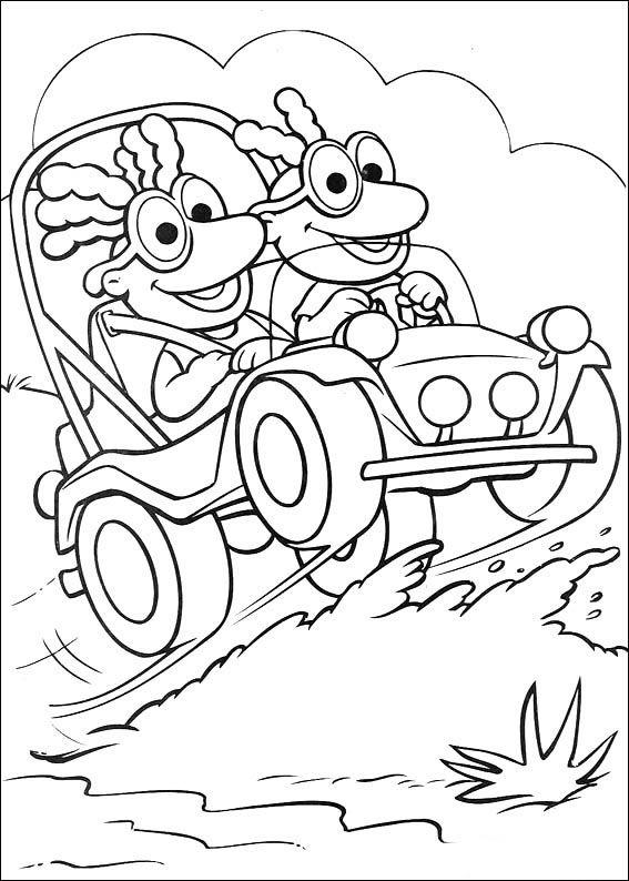 Desenhos para pintar Muppets 21