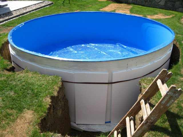Photo of 17+ Pool In Die Erde Einlassen – Garten Gestaltung, Gartengestaltung, Gartenstuh…