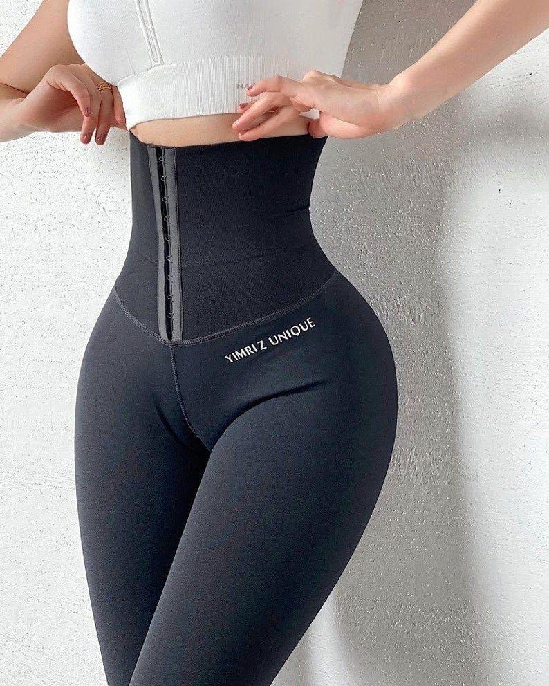 Yoga Pants Stretchy Sports Leggings, High Waist ...