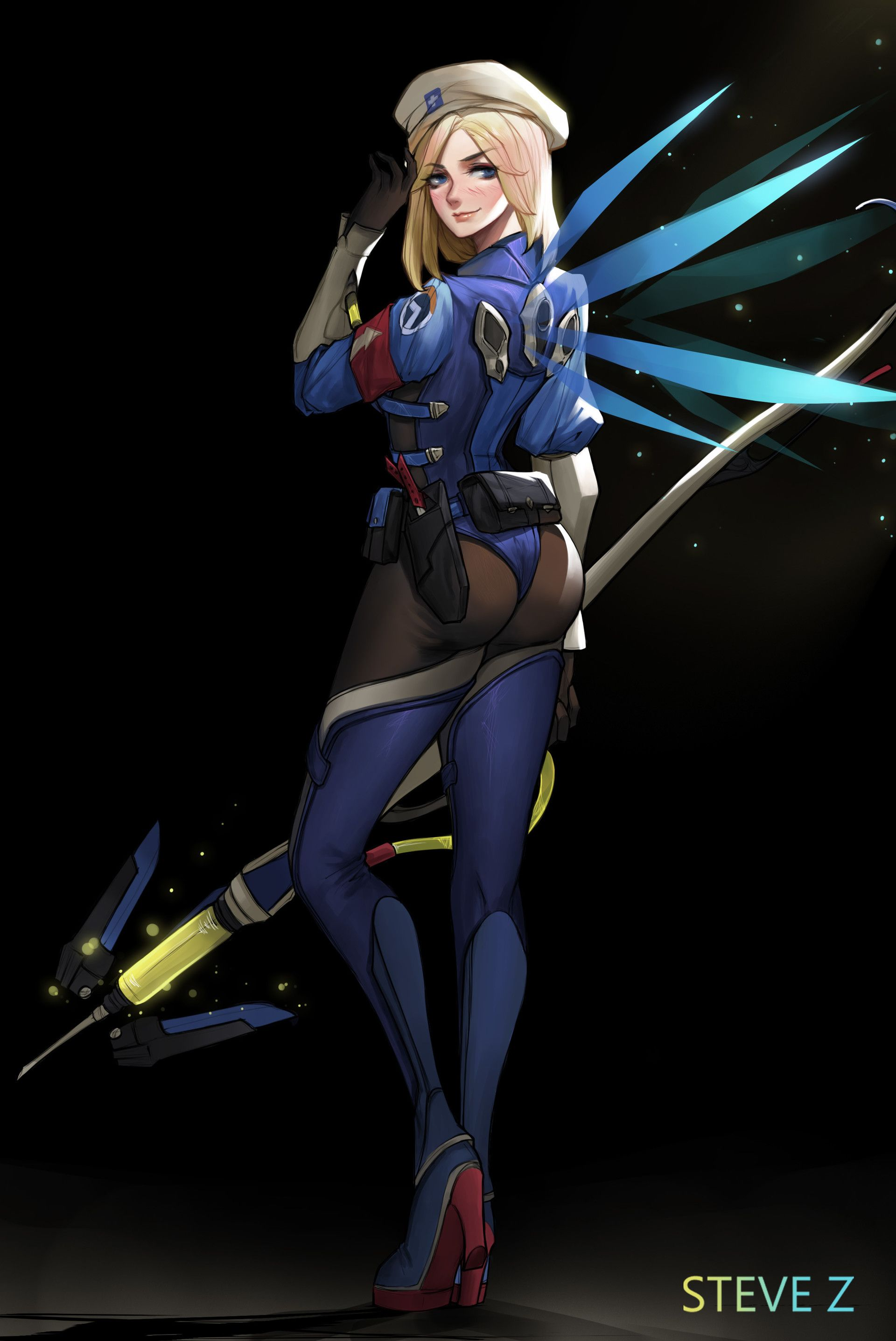 Overwatch - Medic Ziegler
