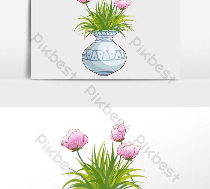 Lukisan Jambangan Bunga Dalam Pasu