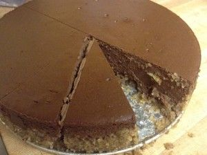 Low-Carb Copycat Godiva Chocolate Cheesecake!
