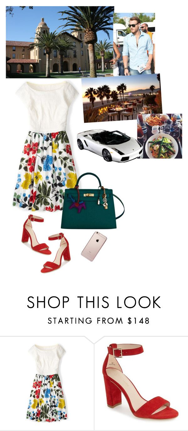 """""""University/Date #4"""" by medicicapetiens ❤ liked on Polyvore featuring Boden, Pelle Moda, Hermès and Spyder"""