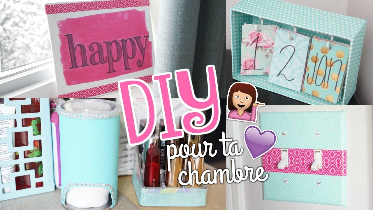 DIY pour ta chambre  Facile & Cute (avec images)  Diy déco