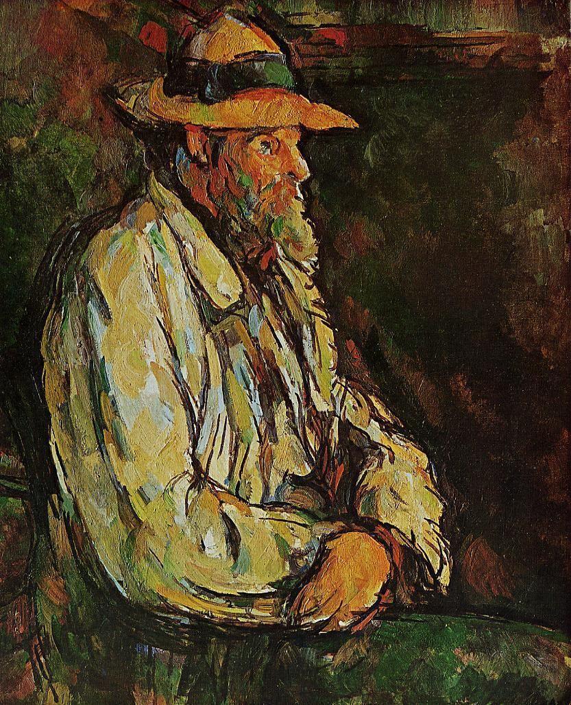 The Athenaeum Portrait Of Vallier Paul Cezanne Paul