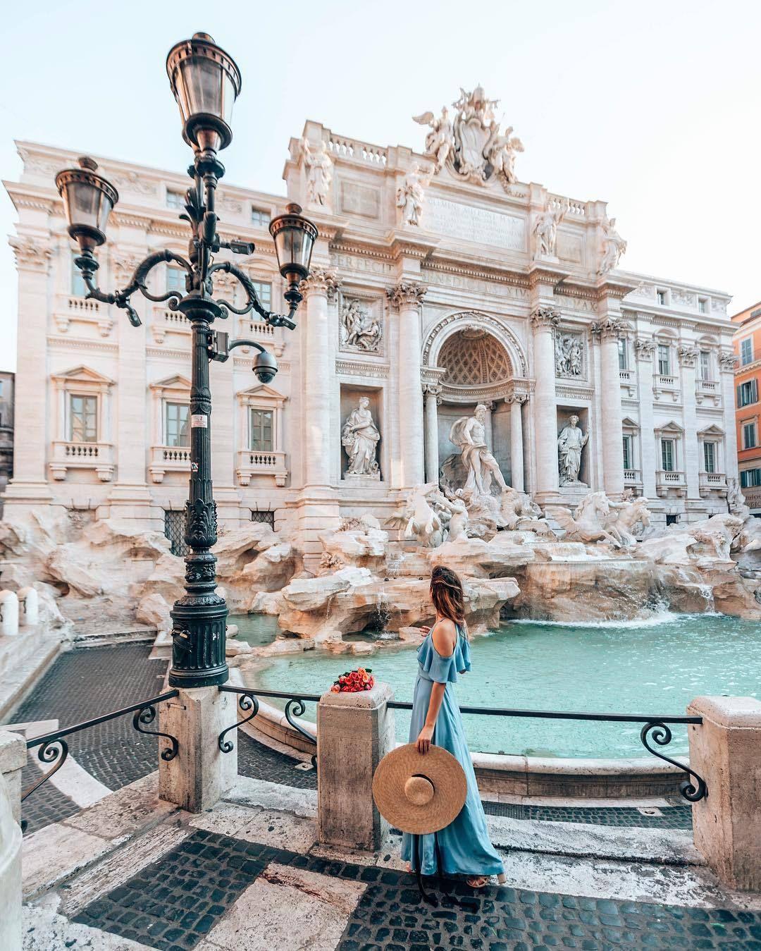 Trevi Fountain Rome Rome Travel Italy Travel Rome Photo
