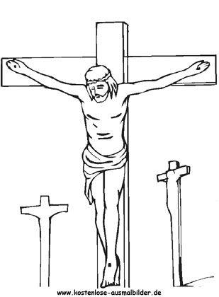 Ausmalbild Ostern Jesus 157 Malvorlage Ostern Ausmalbilder Kostenlos ...