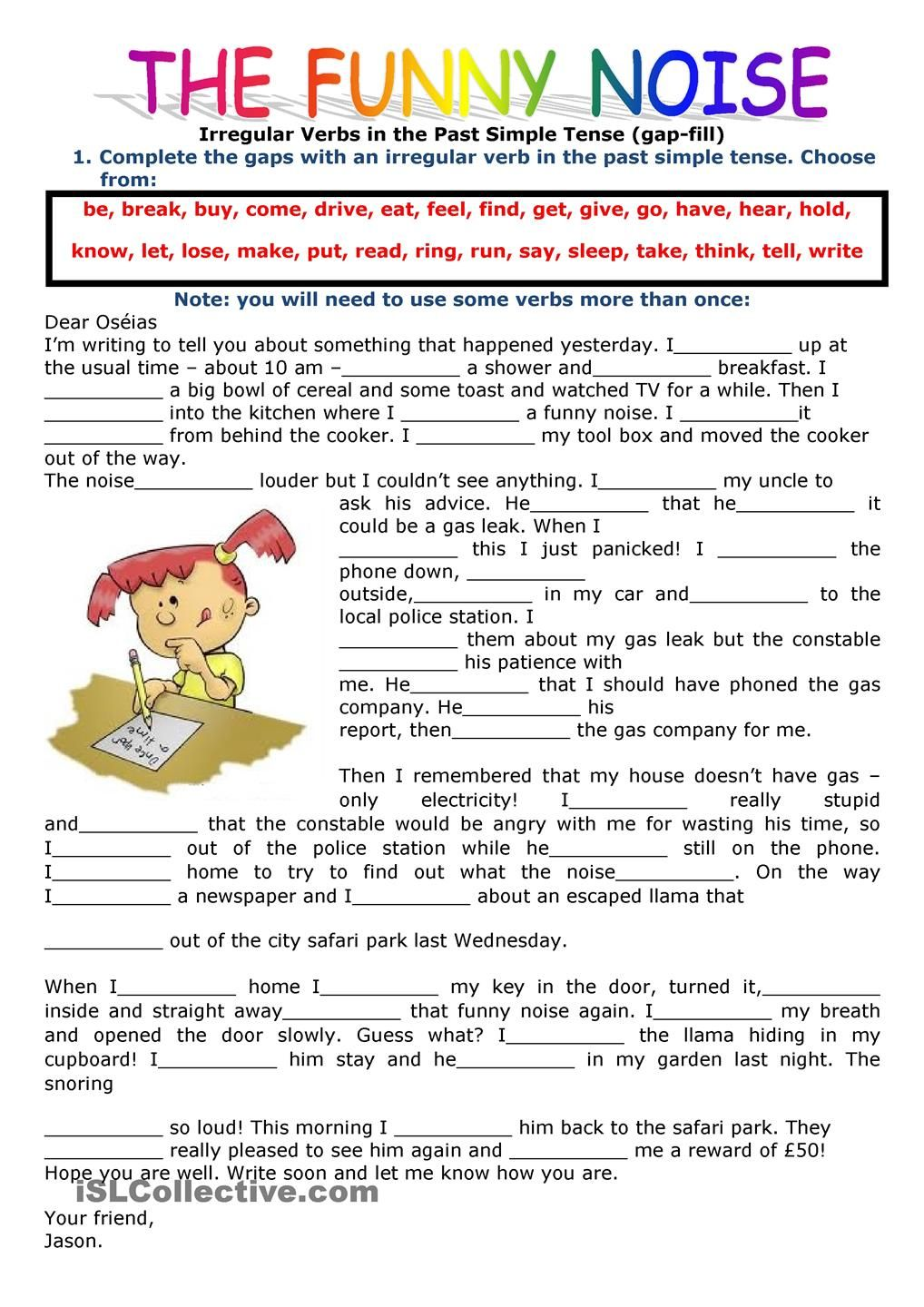Uncategorized Simple Present Tense Worksheets past simple tense filling in the gaps using verbs simple