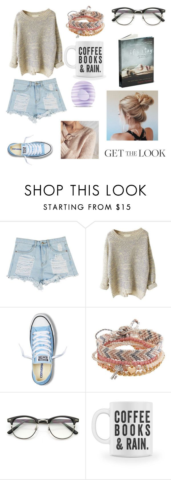 """""""Total was 148.46,including book and mug"""" by madisonpeters00 ❤ liked on Polyvore featuring Converse, Aéropostale and Eos"""