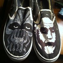 These shoes are sold as is. They have never been worn.  They are a men's size 12.  Ready to ship immediately.