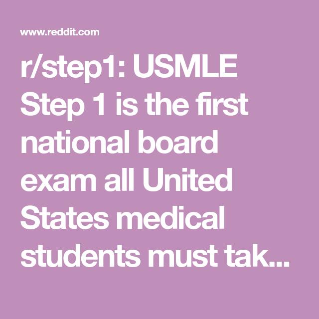 usmle step 1 reddit