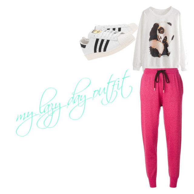 """""""my lazy day outfit"""" by shamekagarrison ❤ liked on Polyvore"""