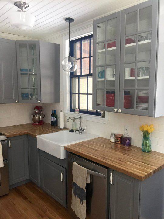 Best Alex's Cottage Kitchen Makeover Kitchen Flooring 400 x 300
