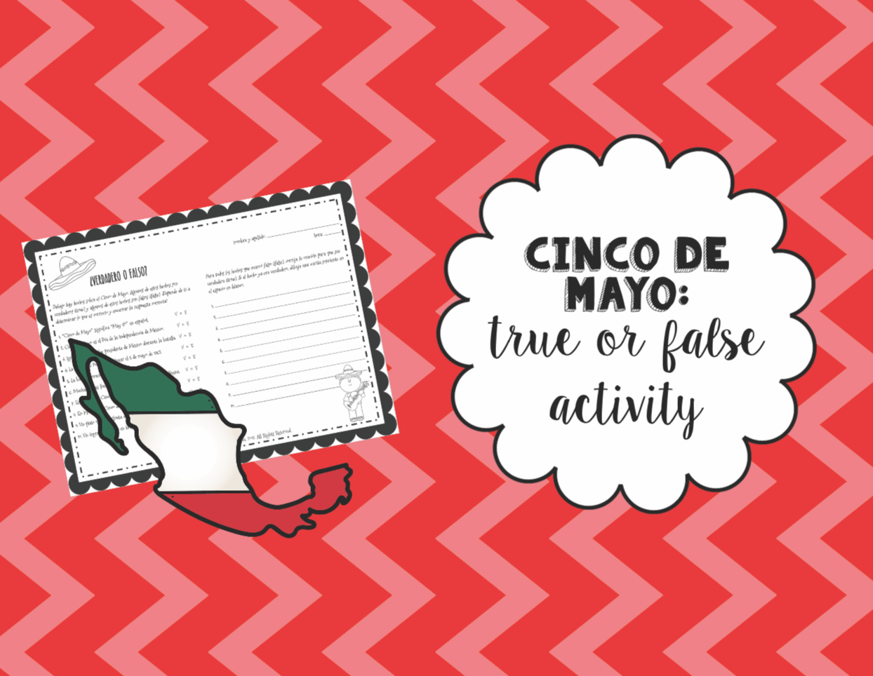 Cinco De Mayo True Or False Activity
