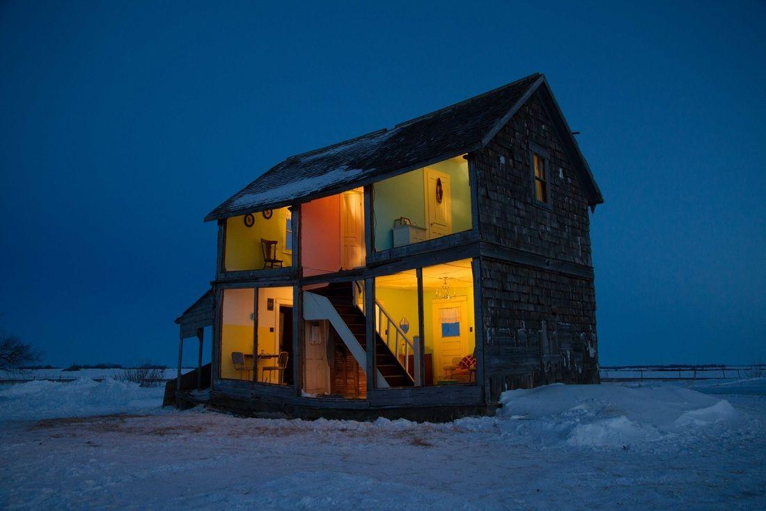 "Canadian artist Heather Benning ""The Dollhouse was an 8"