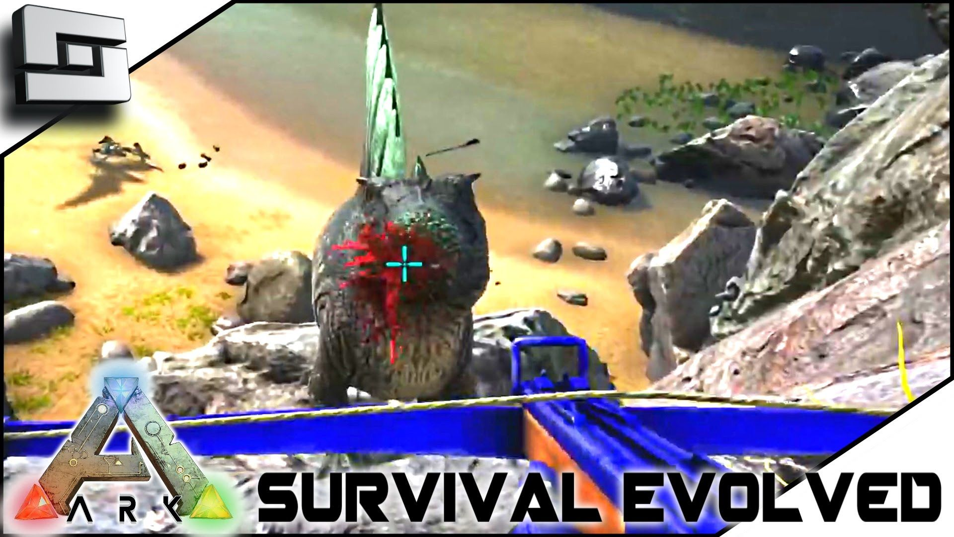 ARK: Survival Evolved   TAMING TWO SPINOS! S2E15 ( Gameplay )