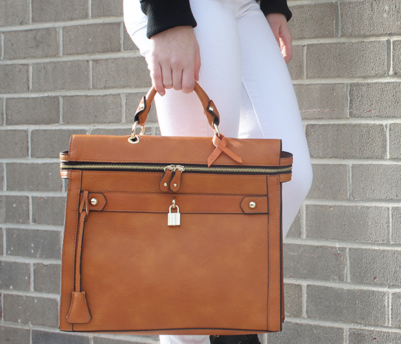 The Square Tote - Angela & Roi - Spotlights | Uncovet