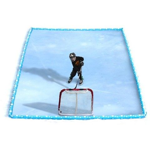 Rave Sports Inflatable Ice Rink 10' x 13 Kit - Blue | Ice ...