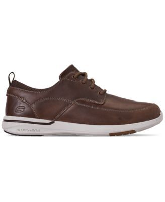 Skechers Men's Relaxed Fit: Elent Leven Casual Sneakers